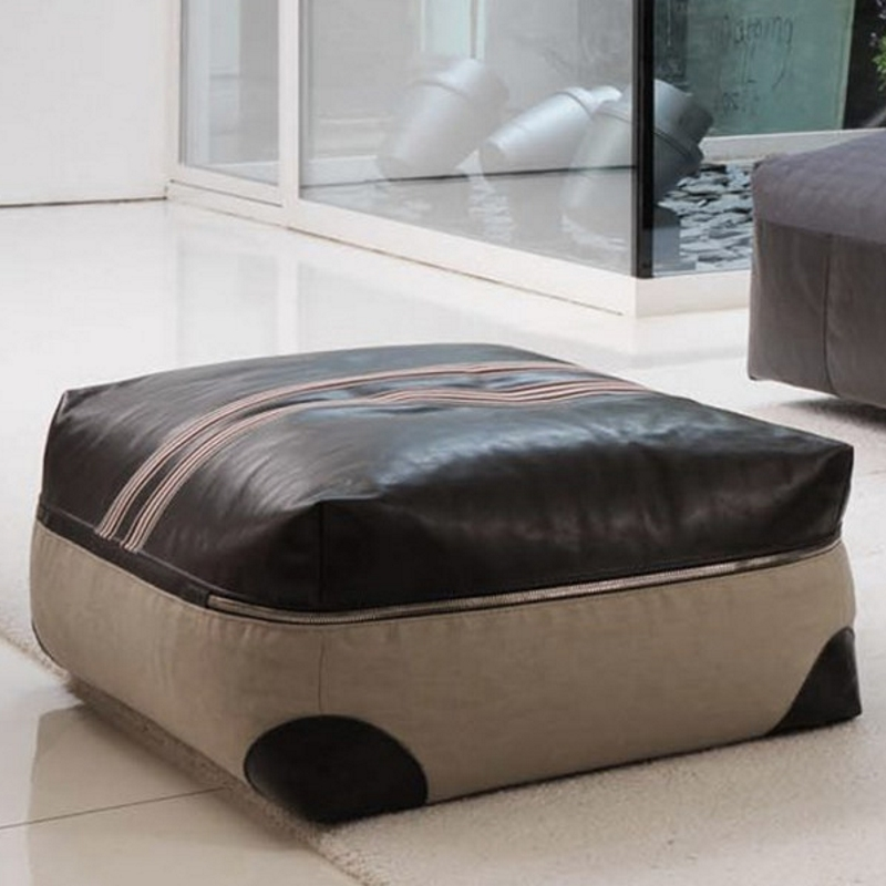 pouf stripe desiree mobilier design contemporain lyon im lyon. Black Bedroom Furniture Sets. Home Design Ideas