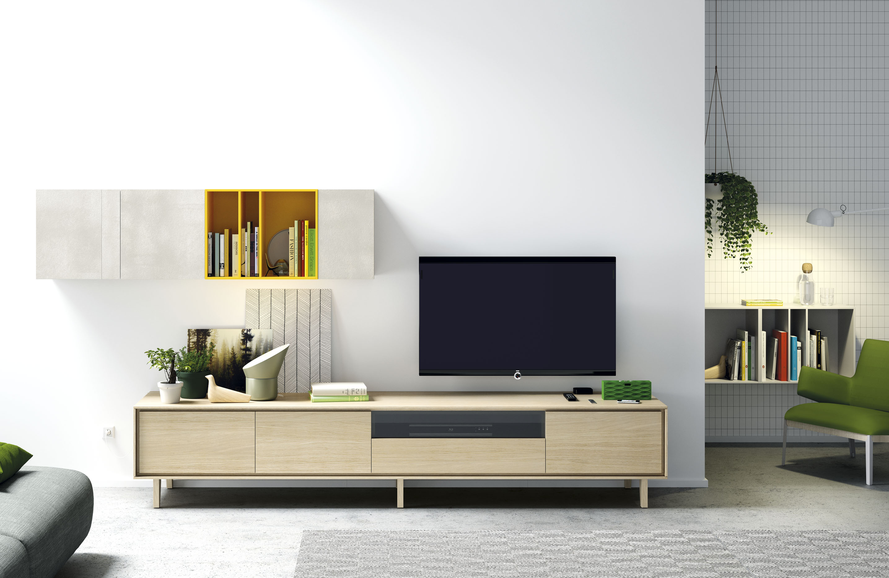 composition tv c 01 de vive im lyon meuble composable. Black Bedroom Furniture Sets. Home Design Ideas