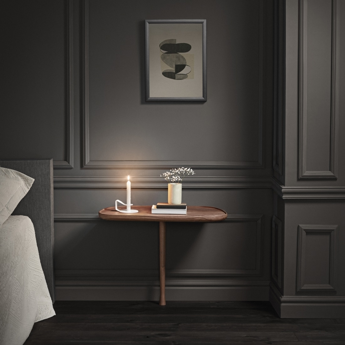 table de nuit mesita nomon mobilier design lyon im lyon. Black Bedroom Furniture Sets. Home Design Ideas