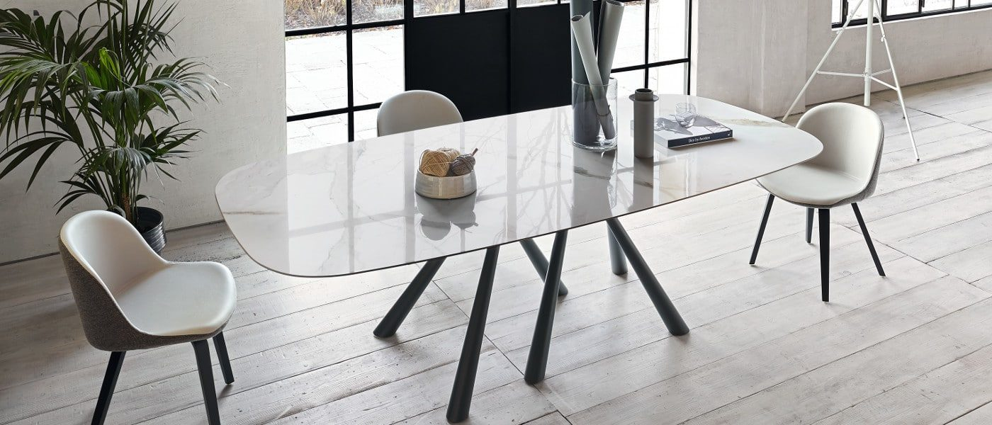 Table Extensible Design Italien table rectangulaire forest par beatriz sempere pour le